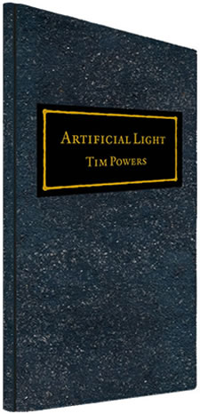 artificial light by Tim Powers - lettered-edition