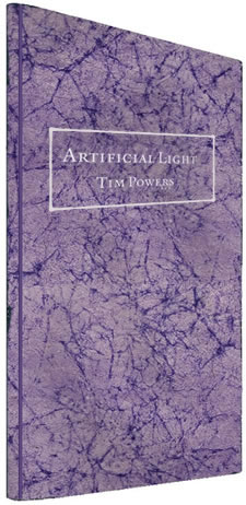 artificial light by Tim Powers numbered edition softbound